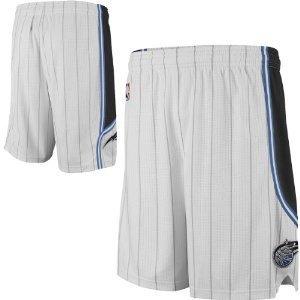Orlando Magic Youth Small Size 8 White Swingman Shorts by adidas