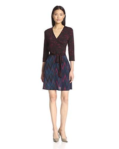 Leota Women's Combo Wrap Dress