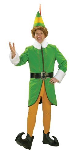 Buddy The Elf Deluxe Men's Costume (Medium)