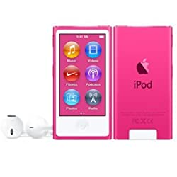 Apple iPod Nano 16GB - Pink (MKMV2ZP/A)