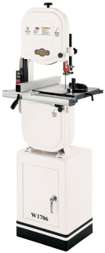 Lowest Prices! Shop Fox W1706 14-Inch Bandsaw With Cast Iron Wheels