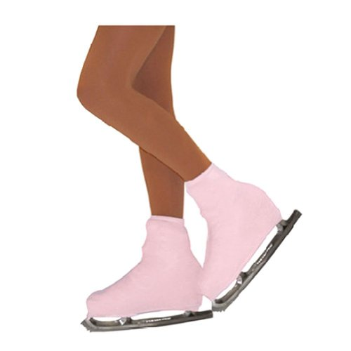 Chloe Noel Girls One Size Pink Boot Cover Figure Skating Accessory