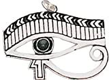 Eye Of Horus - for Health, Strength and Vigour - Earthsea Charm Collection - Finished in Antiqued Silver