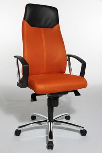 Fauteuil Manager One Office Orange De En VenteChaise Gautier Bureau qzVSUMp