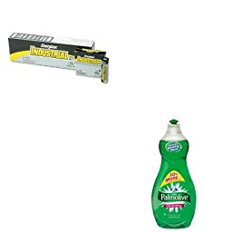 KITCPM46112EAEVEEN91 - Value Kit - Ultra Palmolive Dishwashing Liquid (CPM46112EA) and Energizer Industrial Alkaline Batteries (EVEEN91)