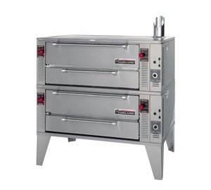Liquid Propane Garland Gpd48-2 Pyro Double Deck Pizza Deck Oven 48""