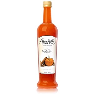 Amoretti Premium Syrup, Pumpkin Spice, 25.4 Ounce