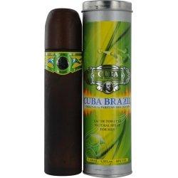 Brazil Eau De Toilette Spray for Men by Cuba, 3.4 Ounce