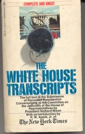 The White House Transcripts, New York Times editors