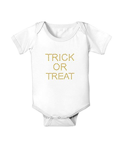Trick or Treat Candy Corn Halloween Baby Romper Bodysuit