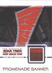 Quotable Star Trek Deep Space Nine C20 Promenade Banner Costume Prop Card Stripe