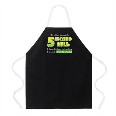 5 Second Rule apron