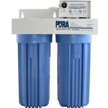 Pura UV (15620321) UVB2-EPCB/SD 0.5 Micron Carbon Block/5 Micron Sediment Drinking Filter 2 GPM 12 V (5 Micron Sediment Filter Pura compare prices)