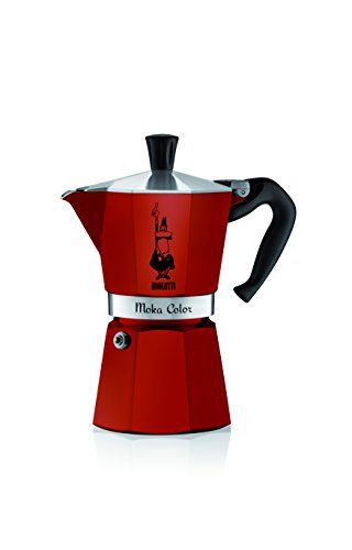 Bialetti 06905 6-Cup Espresso Coffee Maker, Red (Red Bialetti compare prices)