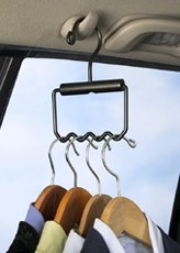 "In Car Clothes Hanger, Hold 4 Hangers (Black) (4 1/4"" H x 6 1/2"" W) from Talus"
