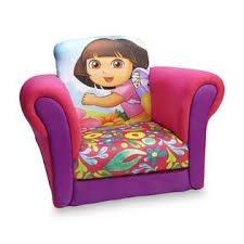 Dora The Explorer Toddler Girl's Upholstered Rocking Chair