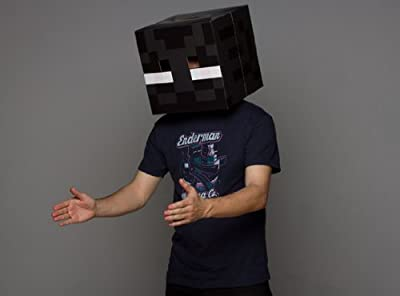 Official Minecraft Enderman Exclusive Head Costume Mask