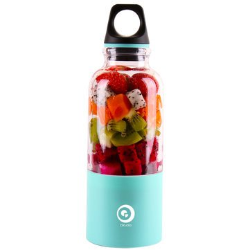 USB Rechargeable Blender Bottle, Digoo DG-VX2 Fresh Juicer Blender Cup ,Portable Personal Electrical Smoothie Maker Bottle Cup for Office Outdoors Travelling