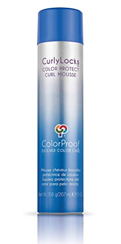 Color Proof Curly Locks Color Protect Curl Mousse 9oz (Color Mousse compare prices)