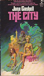 The City (Atlan Saga, Vol. 4) by Jane gaskell and Boris Vallejo