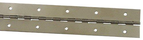 1-1/2X30 Brss Continuous Hinge front-898717