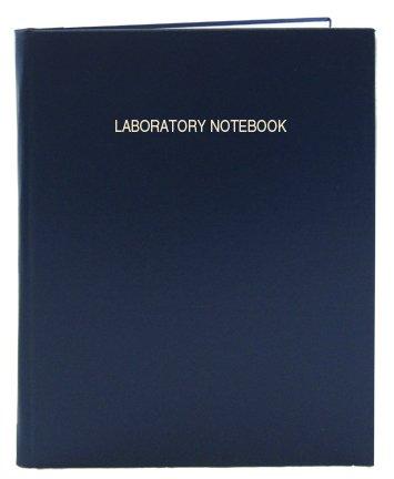 Bookfactory® A4 Blue Lab Notebook, 168 Pages (5Mm Ruled Format), A4 - 8.27 X 11.69 (21 Cm X 29.7Cm), Blue Cover, Smyth Sewn Hardbound (Lirpe-168-4Lr-A-Lbt1)