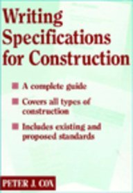 Writing Specifications for Construction