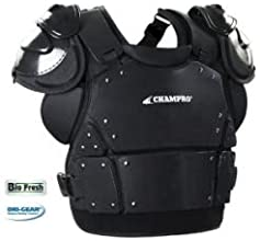 Champro Pro Plus Plate Armor Chest Protector Adult Size Medium 13 inch