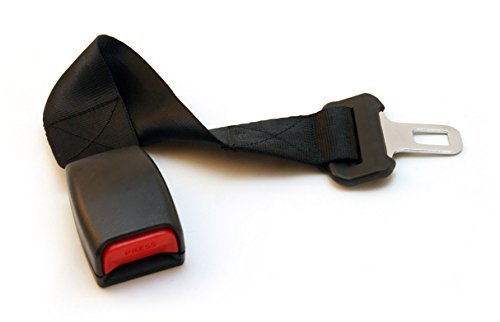 Car Seat Belt Extender for 2014 Jeep Compass (2nd row window seats) - Regular Style Available in Black, Gray & Beige