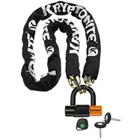 Kryptonite 5ft. 5in. New York Chain and Evolution Series 4 Disc Lock