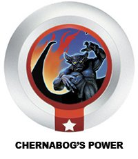 Disney Infinity Series 3 Power Disc Chernabog's Power (from Fantasia) - 1