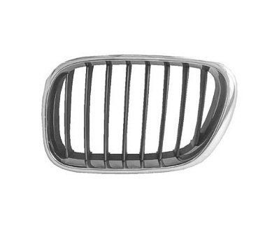 DRIVER SIDE GRILLE BMW X5 CHROME;. (WITHOUT MFR MANUFACTURER EMBLEMS / LOGOS. THEY ARE TRADEMARK PROTECTED.) (2001 Bmw X5 Grille compare prices)