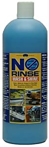 32oz. Optimum No Rinse Wash & Shine