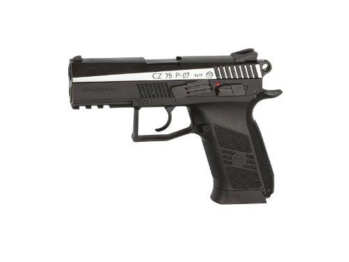 Asg Licensed Cz 75 P-07 Duty Dual Tone Blowback Co2 .177 Bb Air Pistol - Black