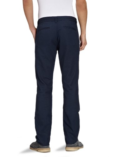 JACK & JONES PREMIUM Herren Hose 12056409 FIELD CHINO PANT, Gr. 33/32, Blau (DRESS BLUE)