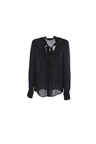 Camicia Donna Pinko 46 Blu Padrino Autunno Inverno 2016/17