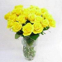 黄色系のバラの花束 100本 (生花)お祝い 記念日 誕生日 フラワーギフト バラ