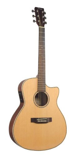 Johnson Jo-06-Cfe Songwriter Ii 000-Style Cutaway Acoustic Electric Guitar