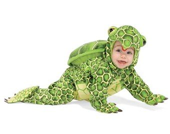 Baby Turtle Costume-green Size (Medium 18-24 Month)