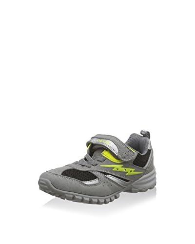 Geox Sneaker Jr Wild  [Grigio/Lime]
