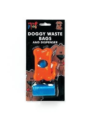 Dog Waste Bags and Dispenser Pick-Up Kit