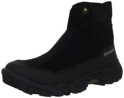 Icebug Men's Metro Bugweb Walking Shoe,Black,10.5 M US