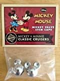 Disney D23 Huffy Mickey & Minnie Classic Cruisers Mickey Head Valve Stem Caps