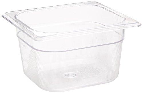 Rubbermaid Commercial Fg105P00Clr Cold Food Pan 1/6 Size 1-2/3-Quart