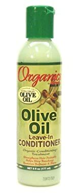 Africa's Best Organics Olive Oil Extra Virgin Conditioner Leave-In 6 oz. (Case of 6)