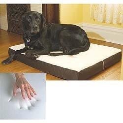 "Medium Dog Bed Memory Foam Pet Beds 20"" x 30"""