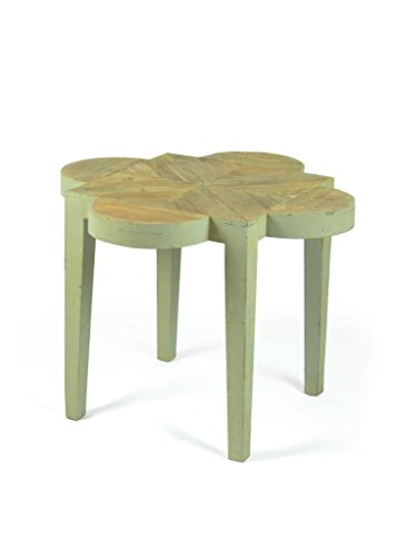 Country Side Table, Green Wood