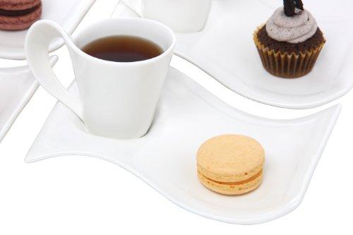 Melange La Jolla Caffe Espresso Cup, Service for 4