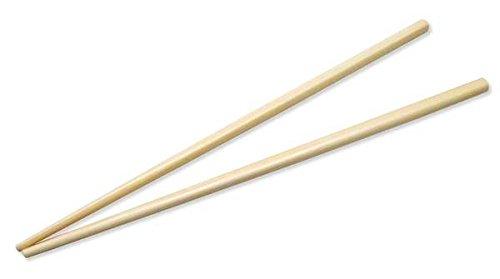 ESS-Bâtonnets/Chop Sticks pour Asian Food (Bambou/21cm-20paires) emballé individuellement