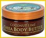 Tree Hut Cocunut Lime Shea Body Butter 7 Oz. 1 New Bottle